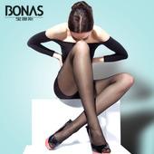 10双装宝娜斯性感丝袜连裤袜 超薄款春夏季防勾丝打底袜女黑肉色