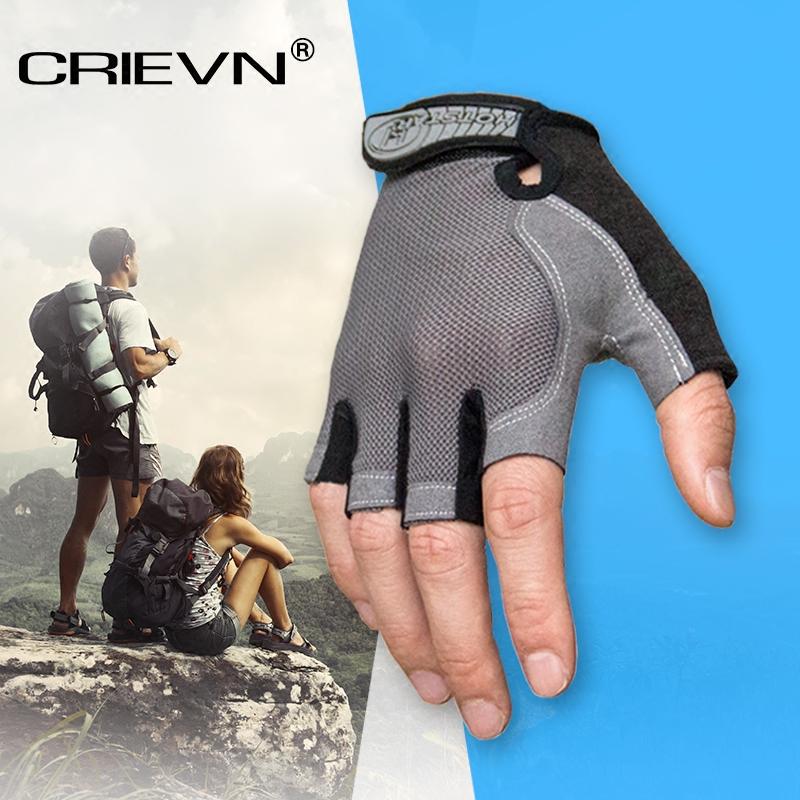 户外开车运动手套男女钓鱼动感单车骑行半指健身防滑手套透气薄