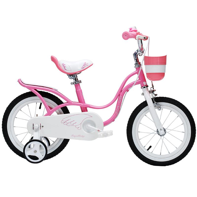 优贝儿童自行车16-14-12-18英寸宝宝单车2-3-6-8岁小女孩女童童