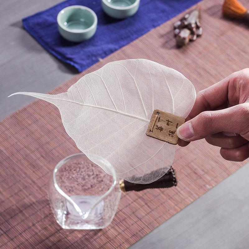 天然菩提叶茶漏创意茶具 170323