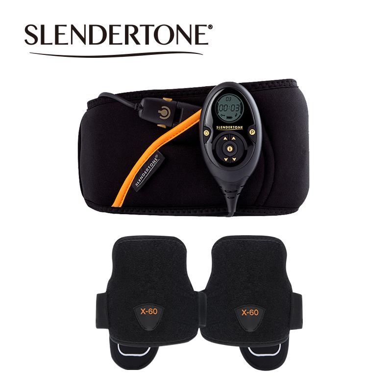 Slendertone 男士腹部手臂肌肉健身器套装刻画人鱼线肱二三头肌