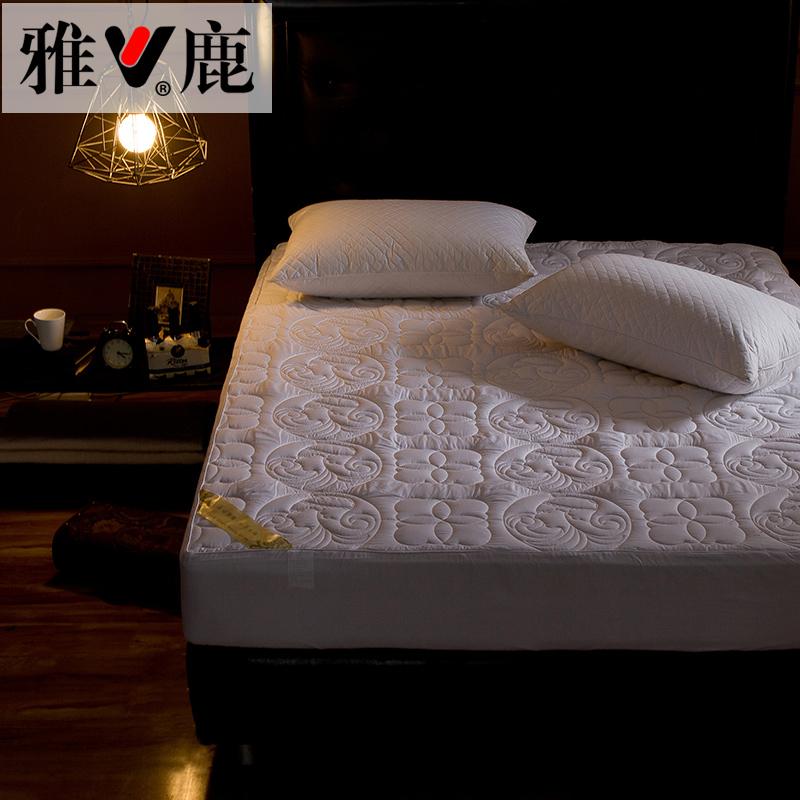 雅鹿床笠全棉加厚夹棉床垫LY-77902