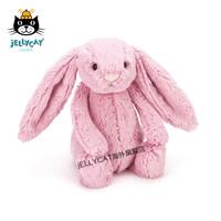 英国jellycat害羞粉色郁金香邦尼兔超柔软毛绒玩具公仔中号