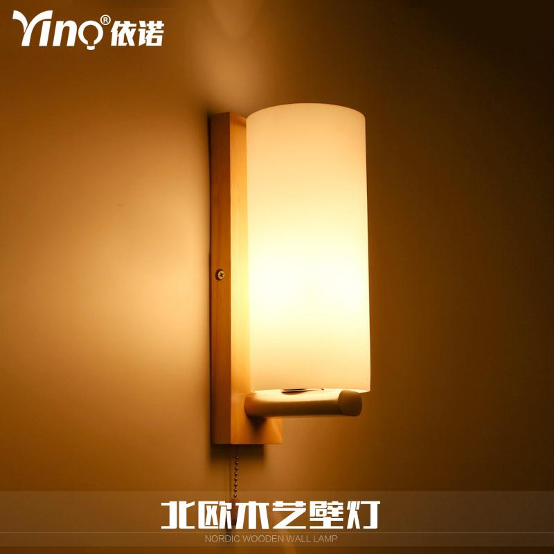 yino实木艺壁灯B170