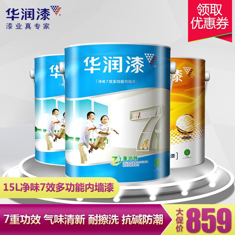 华润漆多功能乳胶漆V808-15L