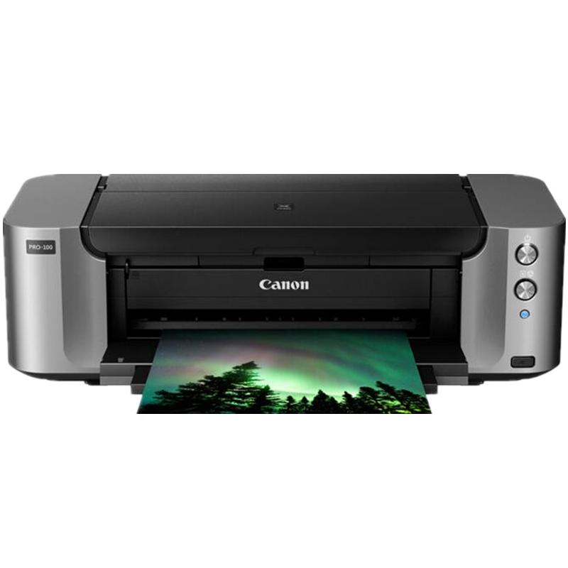 佳能原装行货PRO100 A3+ 8色艺术摄影爱好者照片喷墨打印机