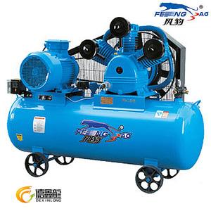 上海风豹W-1.6/8气泵皮带式11KW空气压缩机320L全铜线木工空压机