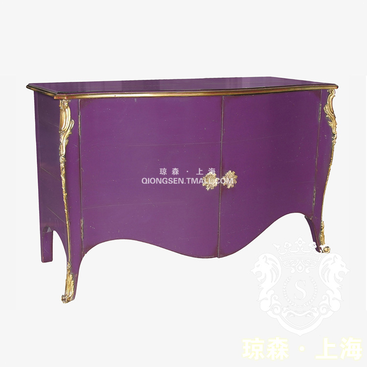 琼森新古典简约紫色鞋柜9x001 (56)