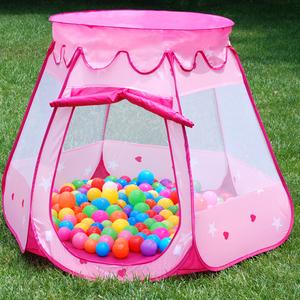 儿童帐篷游戏屋室内玩具屋女孩公主房男孩小帐篷宝宝家用海洋球池