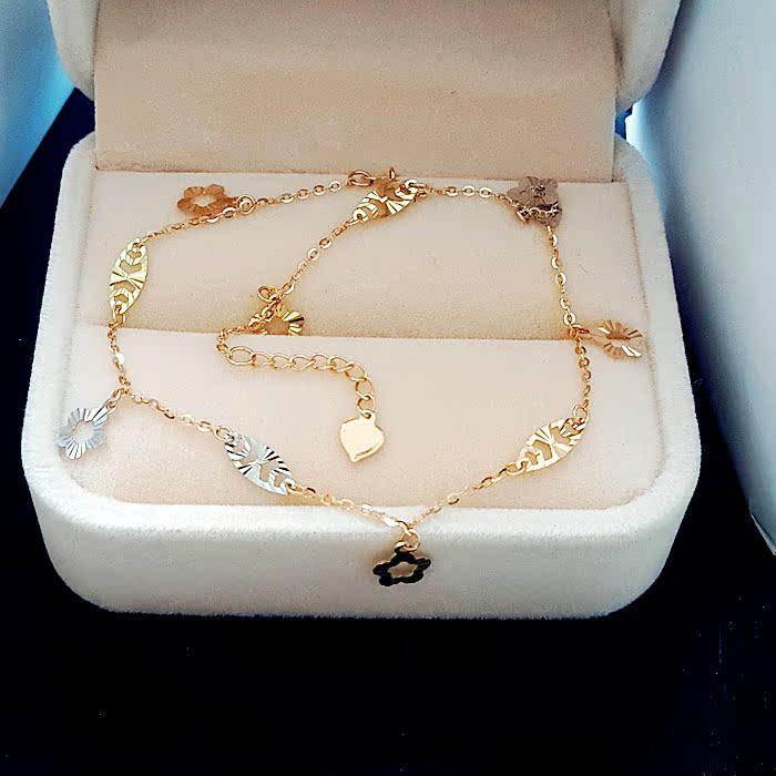 браслет на ногу Spark jewelry  18K 210