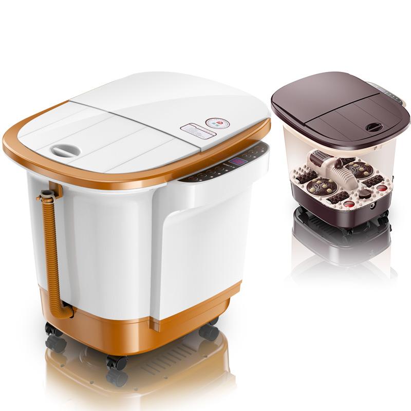 本博足浴盆器全自动按摩洗脚盆深泡脚桶电动加热足底足疗养生家用