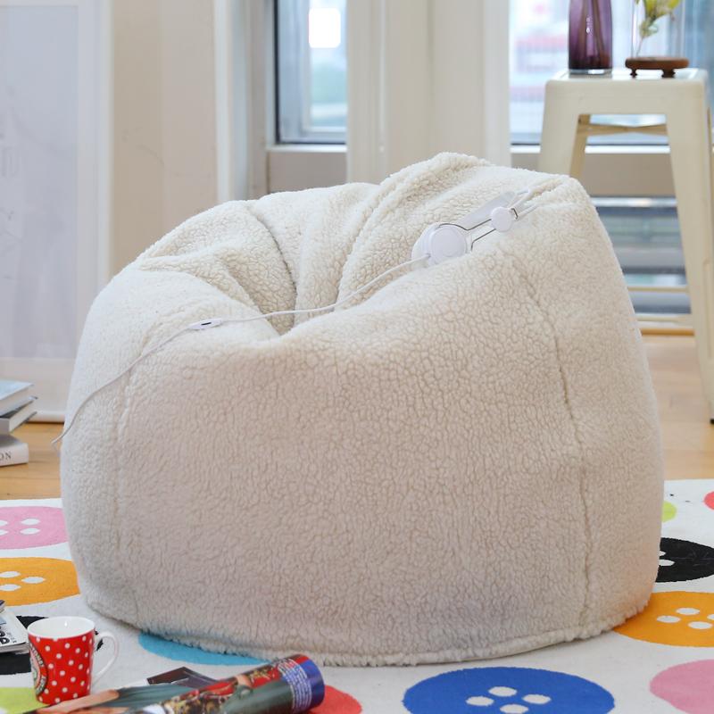 柠檬树创意羊羔绒懒人沙发SF20151220
