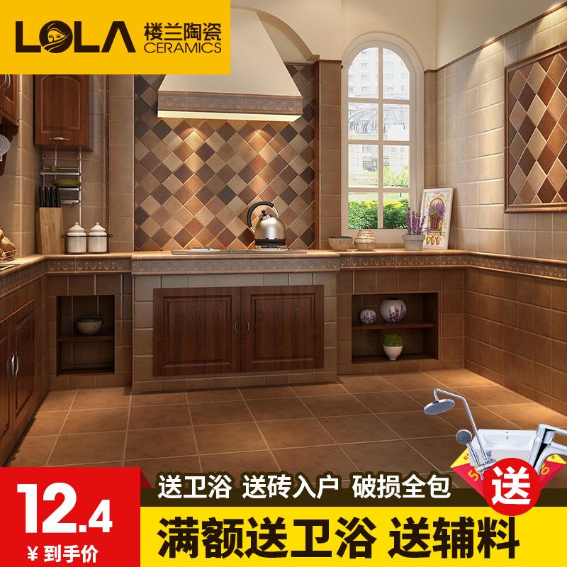 楼兰美式乡村瓷砖QCW005