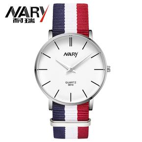 【nary】NARY耐瑞手表男女士情侣时尚简约石英表