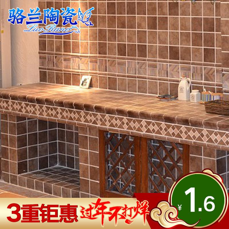 骆兰欧式复古瓷砖墙面砖LR1003