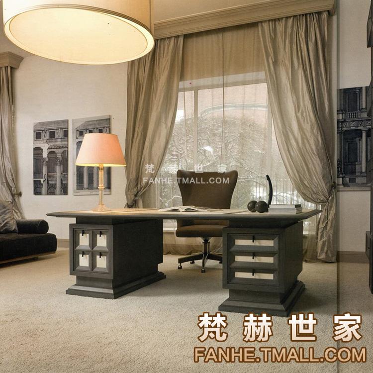 梵赫新美式书桌f27349