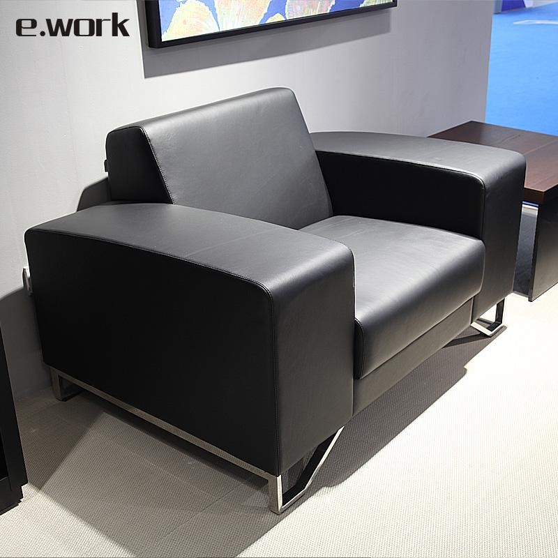 ework沙发超纤皮办公室沙发SM638