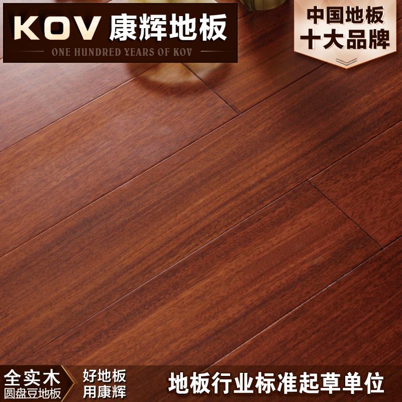 康辉圆盘豆8803-5纯实木地板