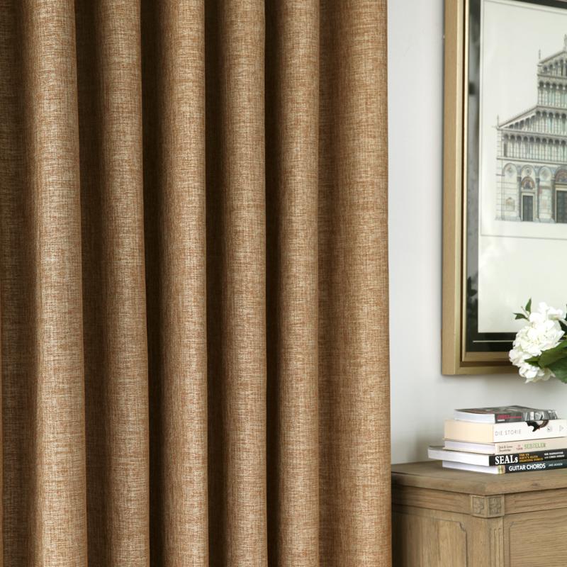 吉屋越界现代简约纯色全遮光窗帘JW22H0116