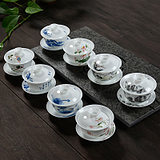 瓷牌茗·茶具/cpm·teaset CPM-207DP 盖碗