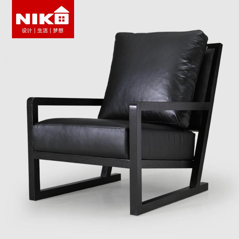 尼克爱家北欧现代简约懒人沙发