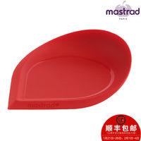 不粘硅胶刮片 法国Mastrad进口多功能汤勺架 蛋糕面糊刮板刮片