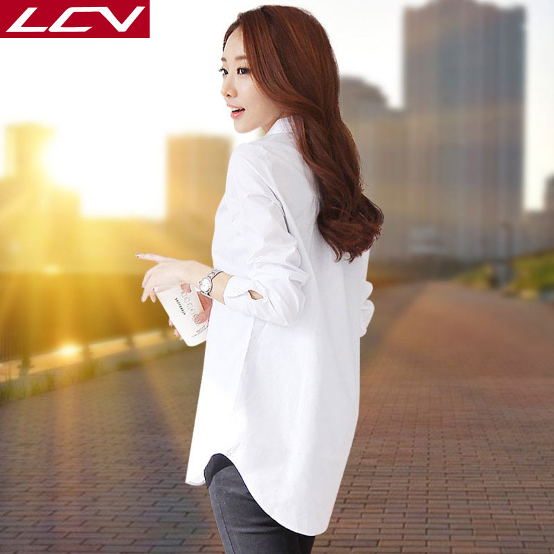 женская рубашка Lcv lcv2067 2017