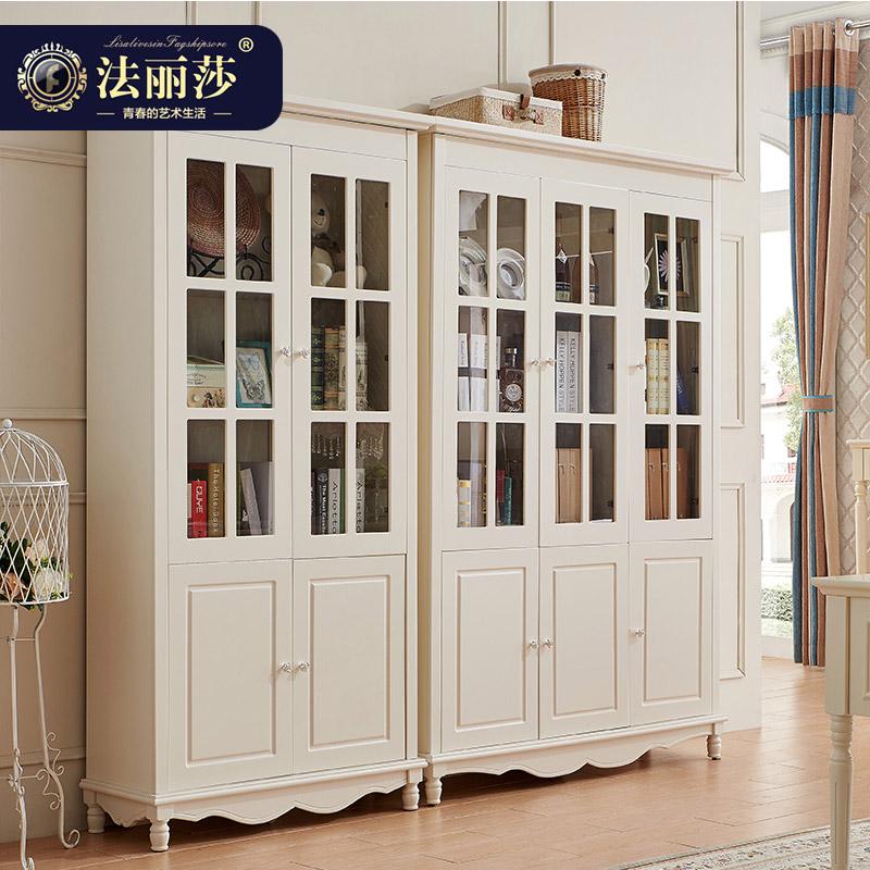 法丽莎韩式田园书柜8S01