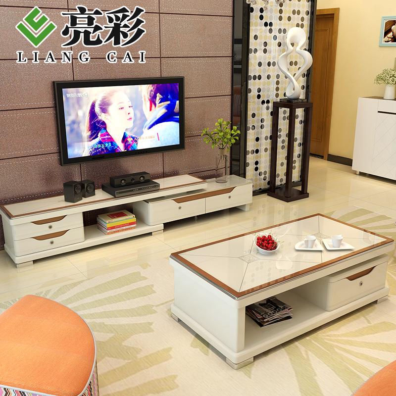 亮彩现代简约多抽屉电视柜2360#+84#