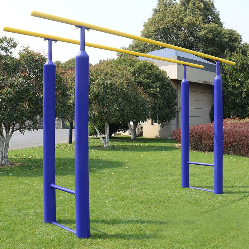 金龙 直销户外室外双杠单杠 小区公园广场社区用户外健身器材路径