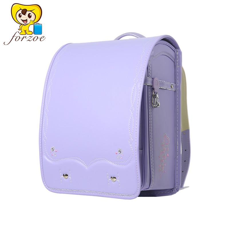 forzoe日本小学生书包 儿童双肩背包3-6年级学生背包女童高年级