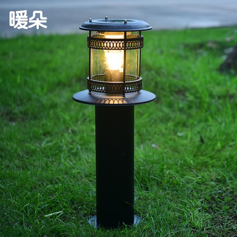 暖朵欧式太阳能草坪灯PY073