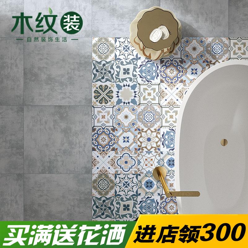 木纹装简约现代瓷砖纯色砖660011
