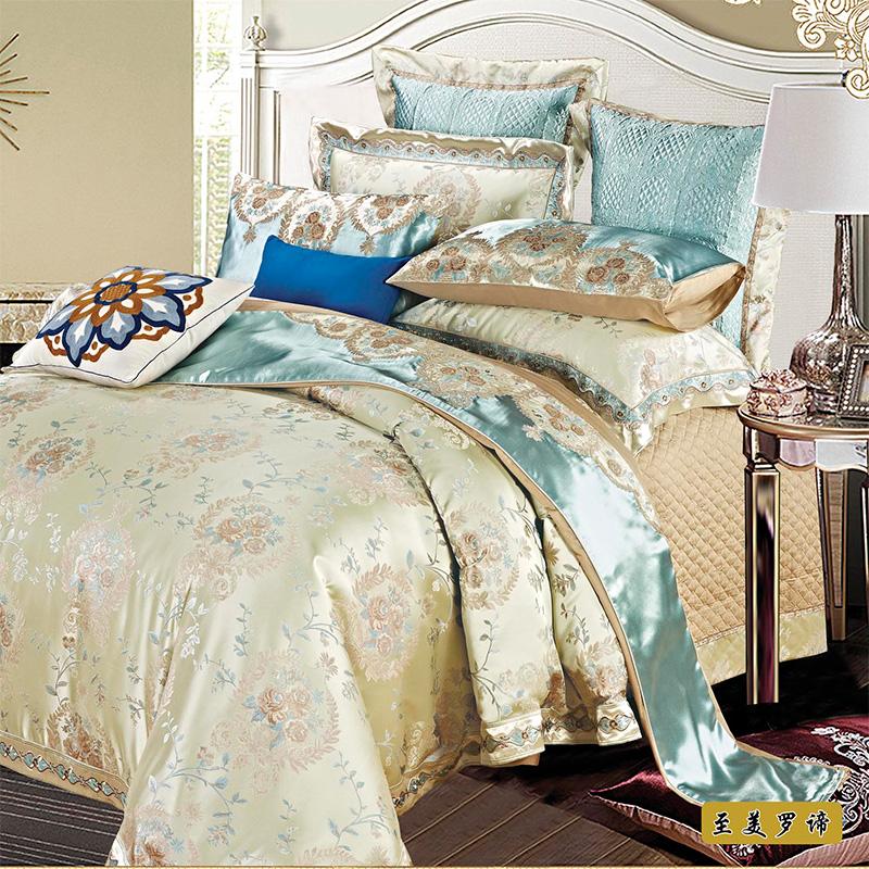 思辰欧式软装房床品四六八十件套SC-ZMLD