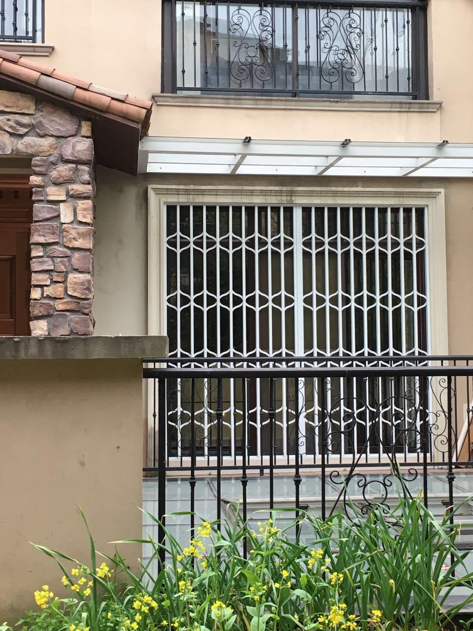 绿娃彩钢防盗窗拉伸防护窗绿娃防盗窗