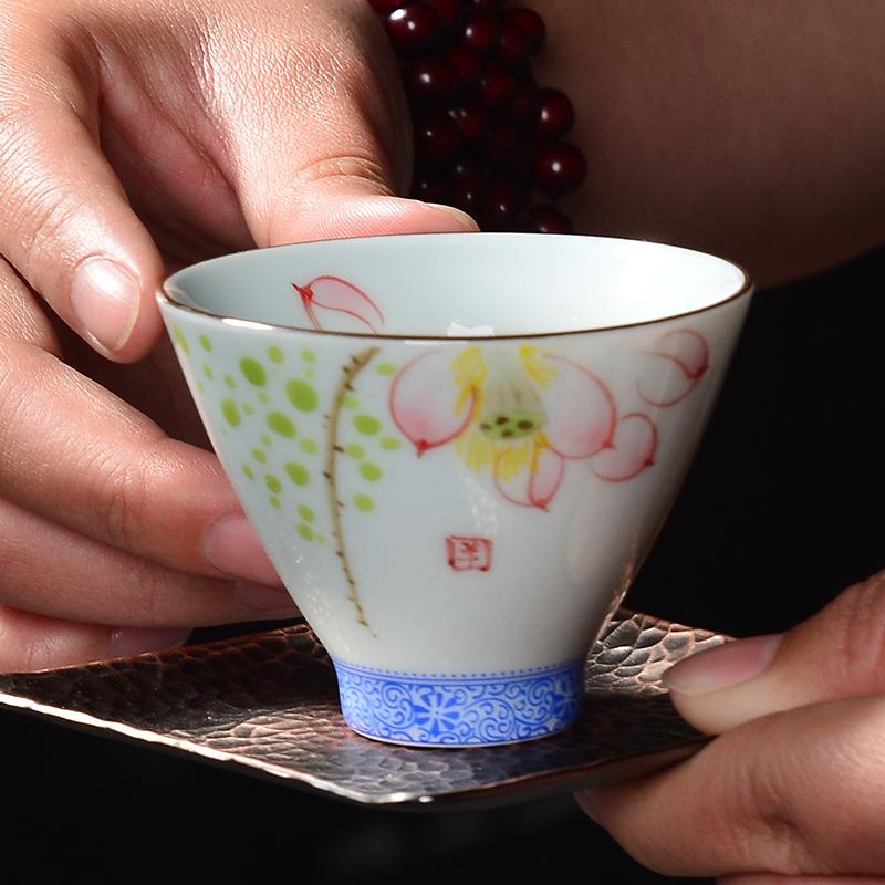 肖字和德茶具功夫茶杯主人杯品茗HD-CB1043