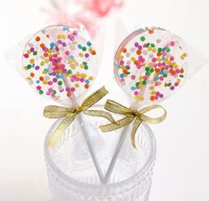 墨大叔的星空棒棒糖/闺蜜婚礼创意波板糖手工定制送女友儿童礼物