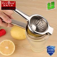 304不锈钢 柠檬夹压汁器蔬菜水果橙子苹果土豆泥手动挤压榨汁器机