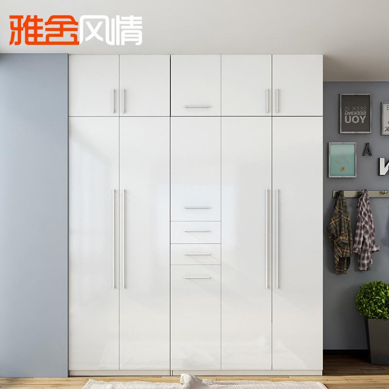 雅舍风情简约现代板式衣柜YG6630