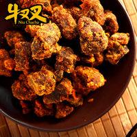 牛叉叉XO酱烤牛肉粒200g台湾美食小吃特产零食五香辣四口味牛肉干