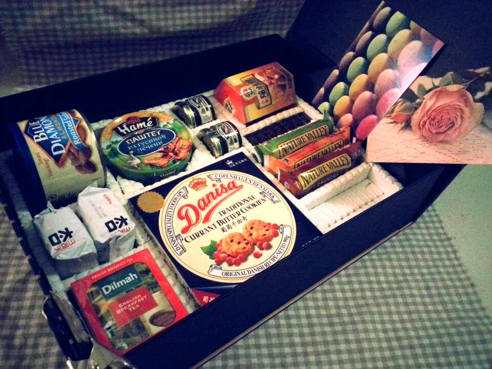 进口无糖食品高档海鲜坚果巧克力零食大礼包送图片