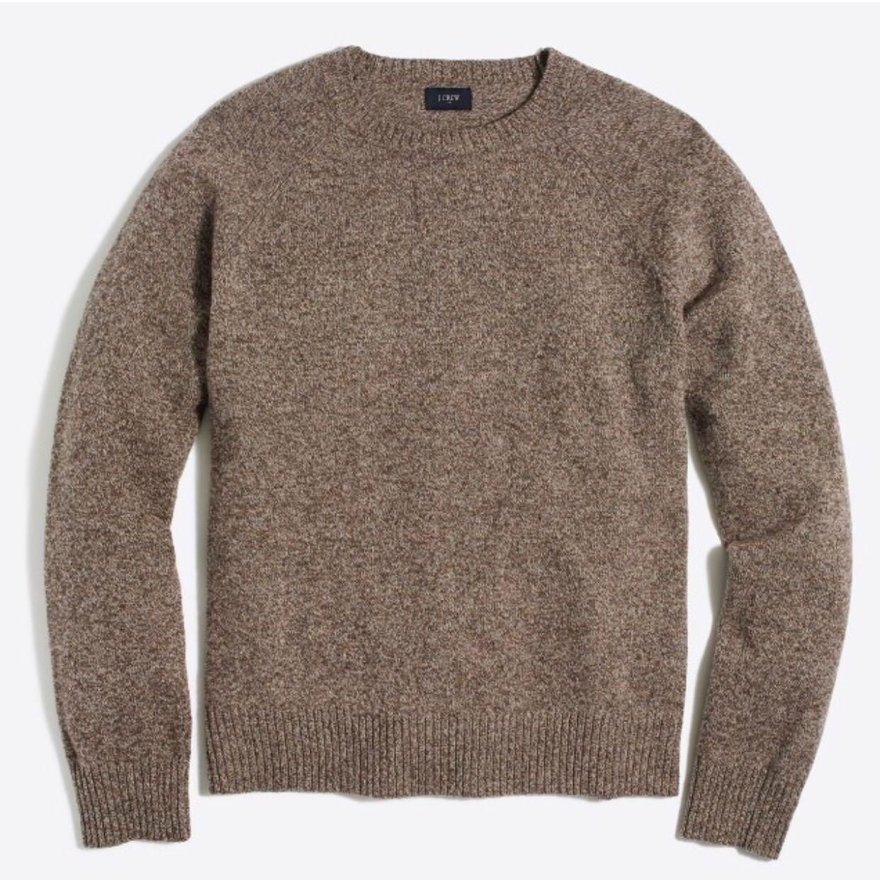 现 年后发 / Men's款 折 J*crew好质感圆领基础款毛衣 多色