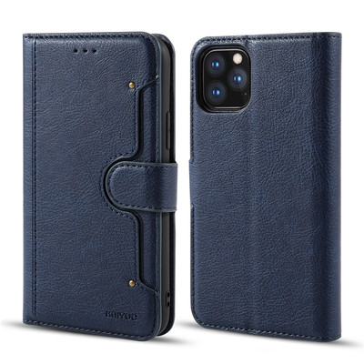 Apple iPhone 11/11pro/11pro max Mobile Leather Flip Cover High Quality 586388