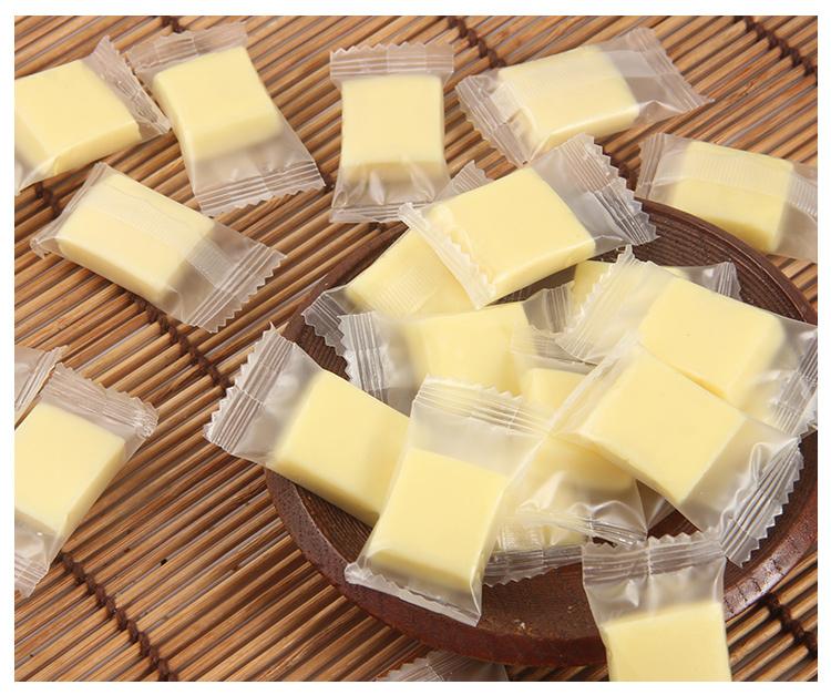 脱脂奶酪块无蔗糖奶酪内蒙特产