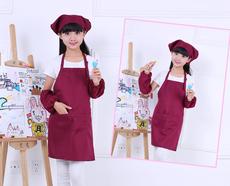 Ребенок фартук живопись одежда бандана шеф-повар