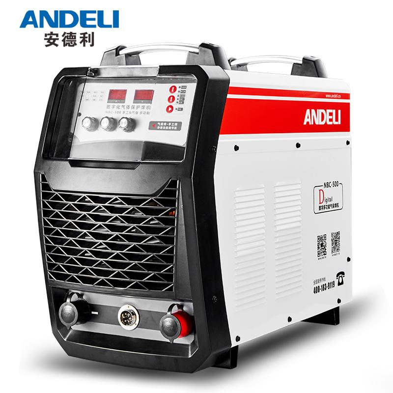 安德利350 500二氧化碳气体保护焊机分体工业二保焊220V-380V两用