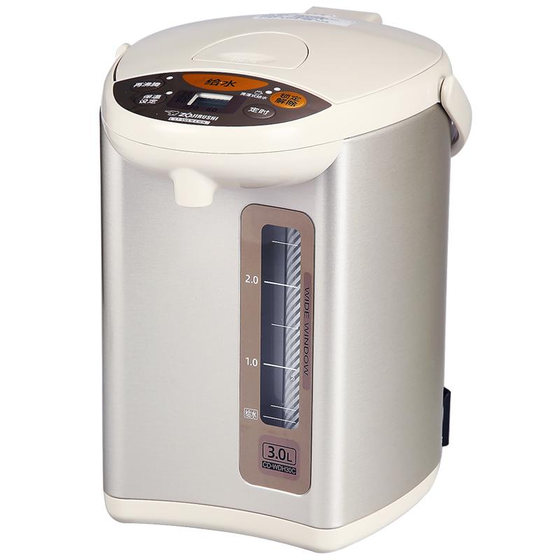 ZOJIRUSHI-象印 CD-WDH30C电热水瓶3L家用不锈钢保温烧水电热水壶