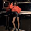 衣服酷潮女装套装秋季时尚2018新款网红帅气卫衣裙子两件套装俏皮