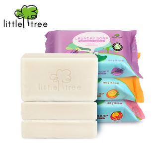 小树苗婴儿洗衣皂宝宝专用180g*3块肥皂批发新生儿洗衣皂婴儿专用