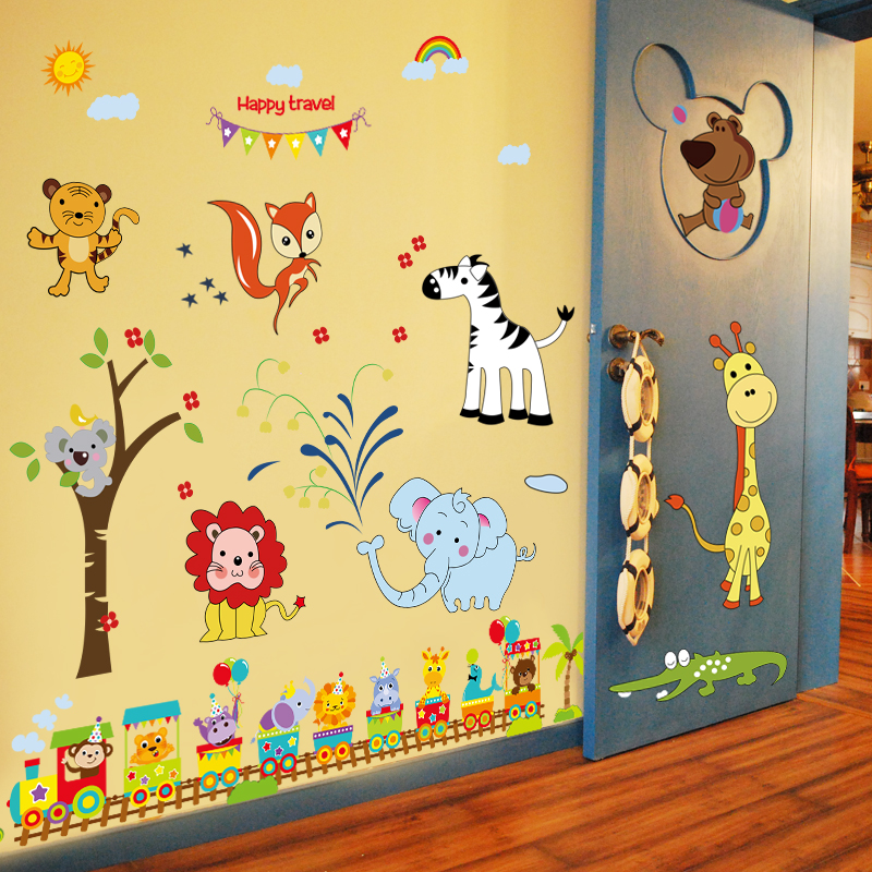 baby baby children s room kindergarten wall decoration wall stickers